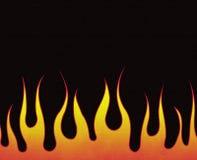 Incêndio ardente Imagem de Stock Royalty Free