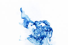 Incêndio azul Foto de Stock Royalty Free