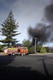 Incêndio da casa Fotos de Stock