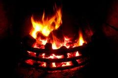 Incêndio de carvão Fotografia de Stock Royalty Free