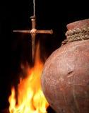 Incêndio de Easter imagens de stock royalty free