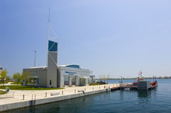 Incêndio de Toronto, estação marinha Fotos de Stock