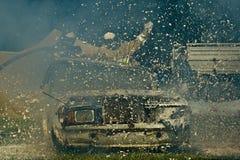 Incêndio derrotado Foto de Stock
