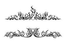 Incêndio do estilo ilustração royalty free