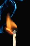 Incêndio do fósforo Imagens de Stock