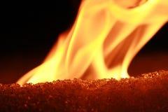 Incêndio e gelo imagem de stock royalty free