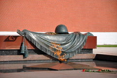 Incêndio eterno. Moscovo Foto de Stock Royalty Free