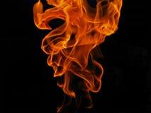 Incêndio flamejante foto de stock