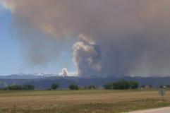 Incêndio florestal do gulch de Buckhorn Fotografia de Stock Royalty Free