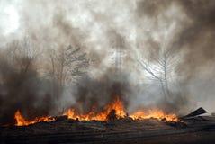Incêndio freqüente em precários de Kolkata Fotografia de Stock