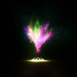 Incêndio mágico Imagem de Stock Royalty Free