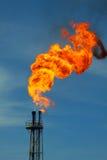Incêndio queimado Fotos de Stock Royalty Free