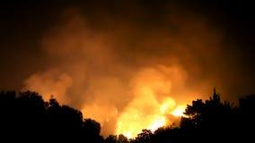 Incêndio violento que Raging nos montes (HD) filme