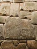 inca 12 sid stenen Arkivfoto
