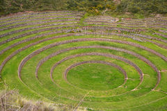 Inca agricultural ruin Stock Photography