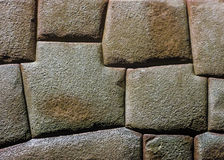 Inca Architecture 8 Angles Stone Stock Images