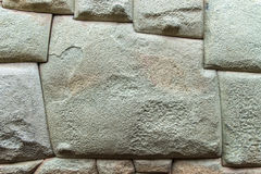 Inca architecture. Close up image of a fragment of tupical incan architecture Stock Photo