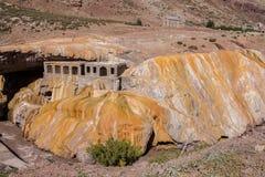 Inca Bridge Andes Fotografering för Bildbyråer