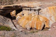 Inca Bridge Andes Royalty-vrije Stock Fotografie