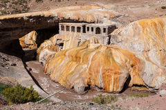 Inca Bridge Andes Stock Fotografie