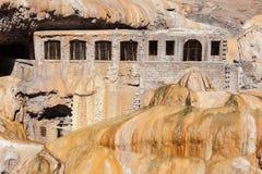 Inca Bridge Andes fotografia stock libera da diritti
