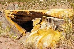 Inca Bridge, Andes Mountains, Argentina Stock Photo