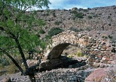 Inca Bridge,Mendoza,Argentina Royalty Free Stock Images