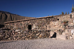 Inca buildings Royalty Free Stock Images
