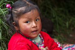 Inca Child Lizenzfreie Stockfotografie