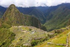 Inca citadel Machu Picchu in Peru Stock Photography