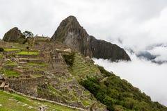 Inca City av Machu Picchu Royaltyfri Foto