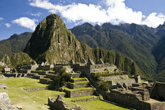 Incas city of Machu Pichu in Cusco, Peru Stock Images
