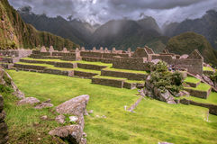 Inca city Machu Picchu (Peru) Stock Photo
