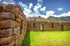 Inca city Machu Picchu (Peru) Stock Photography