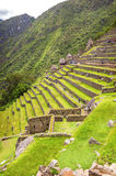 Inca city Machu Picchu (Peru) Royalty Free Stock Photos