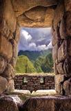 Inca city Machu Picchu (Peru) Royalty Free Stock Images