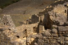 The Inca city of Machu Picchu Royalty Free Stock Images