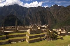 The Inca city of Machu Picchu Royalty Free Stock Photo
