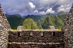 Inca city Machu Picchu (Peru) Stock Images
