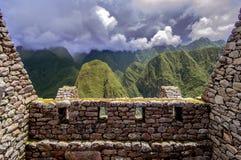 Inca city Machu Picchu (Peru) stock images