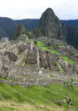 Inca City of Machu Picchu Royalty Free Stock Images