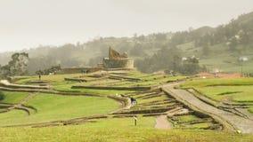Inca Civilization Ruins At Ingapirca banque de vidéos