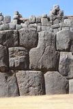 Inca construction. View the rest of the Inca buildings around Cuzco Royalty Free Stock Photos