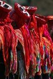 Inca dancers Royalty Free Stock Photos