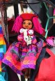 Inca Doll. Peruvian doll representing a indigenous costume Stock Photos