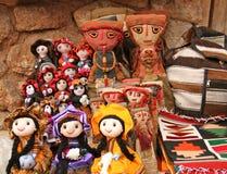 Inca Dolls Royalty Free Stock Photos