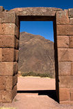Inca Doorway Stock Photos
