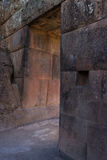 Inca Doorway in Pisac Royalty Free Stock Photos