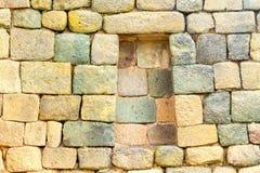 Inca Engineering Wall Construction anziano Fotografia Stock