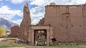 Inca-fördärvar Tarahuasi I - Peru royaltyfria foton